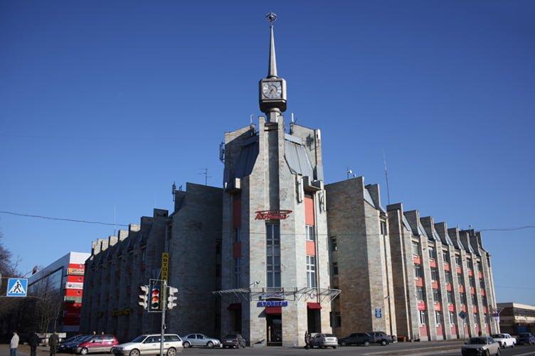 Historical building of the Raketa Watch Factory