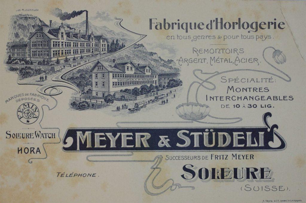 Meyer & Studeli in Soleure