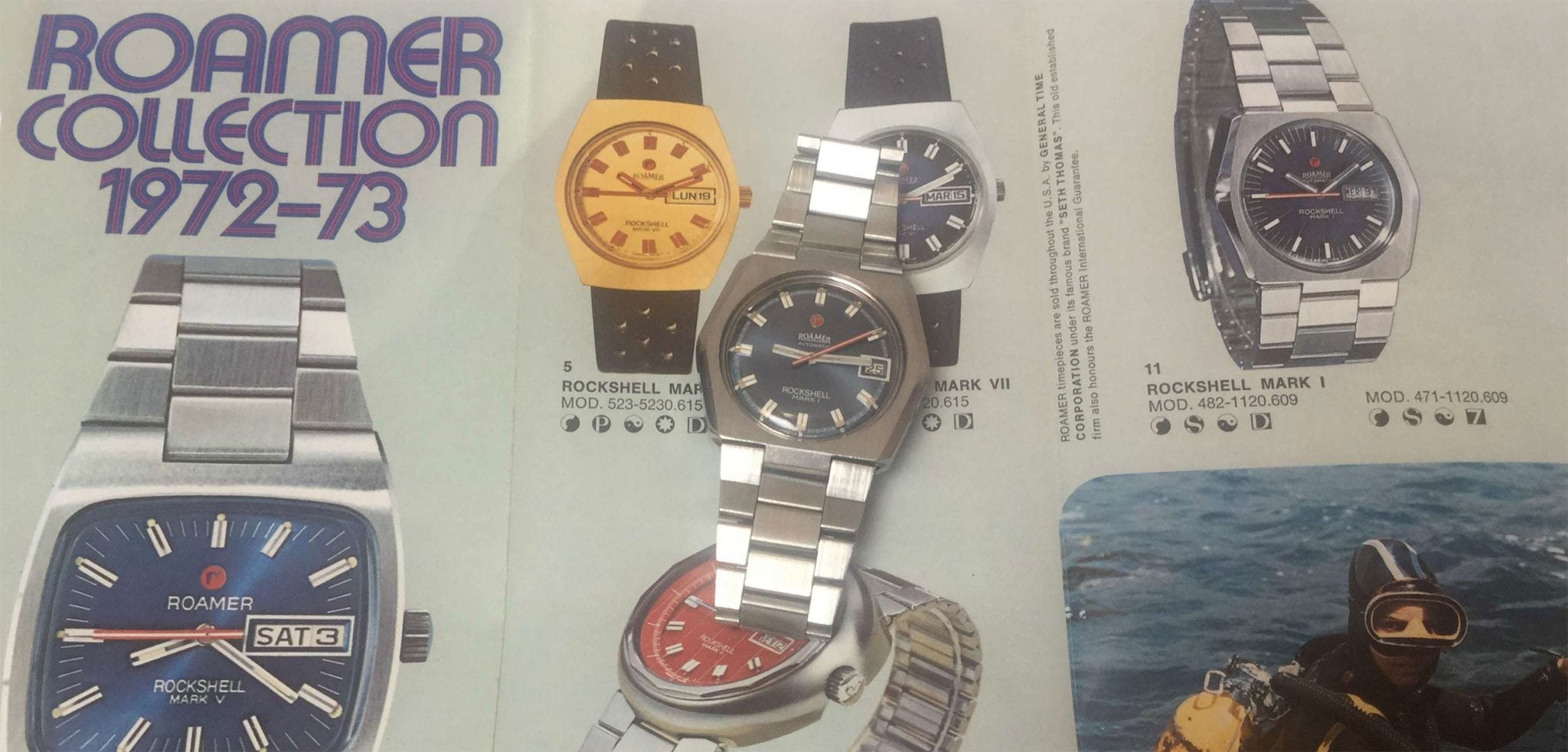 Roamer Vintage Watches
