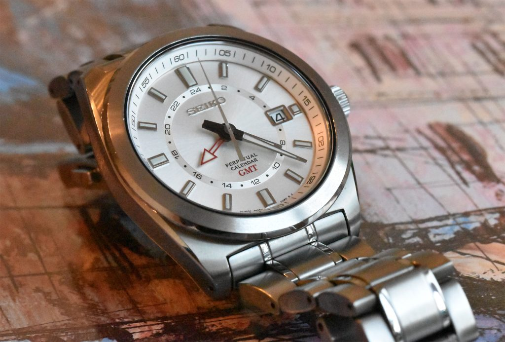 Seiko SBQJ017 equipped with the 8f56 movement