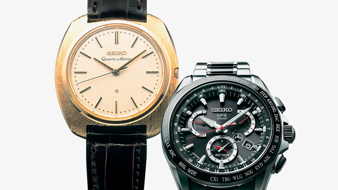 Seiko Astron Quartz Watches History