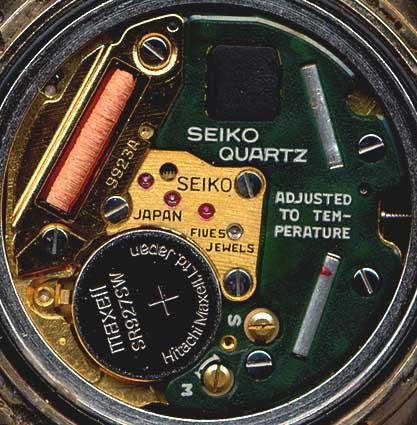 Seiko Quartz Movement