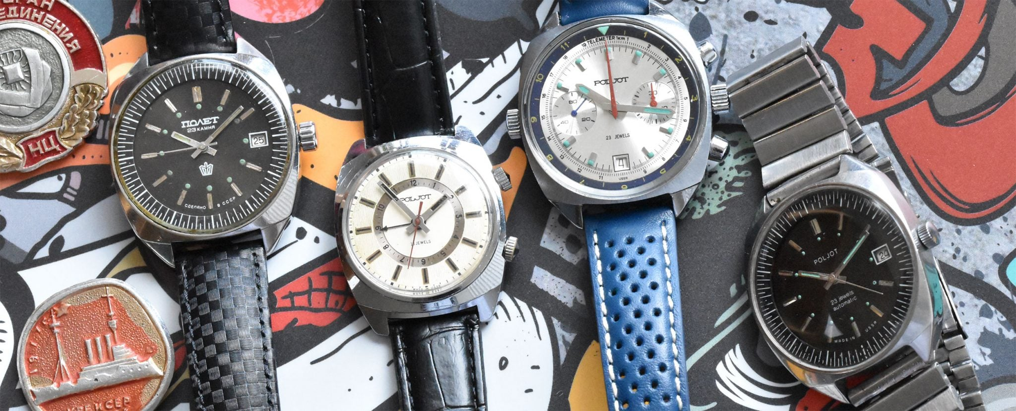 Poljot Soviet Watches