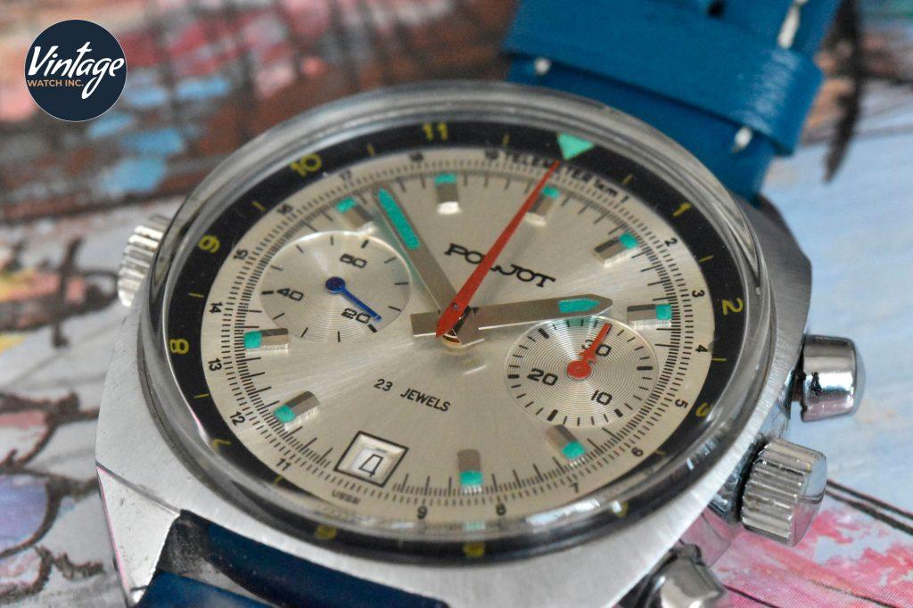 Poljot 3133 chronograph