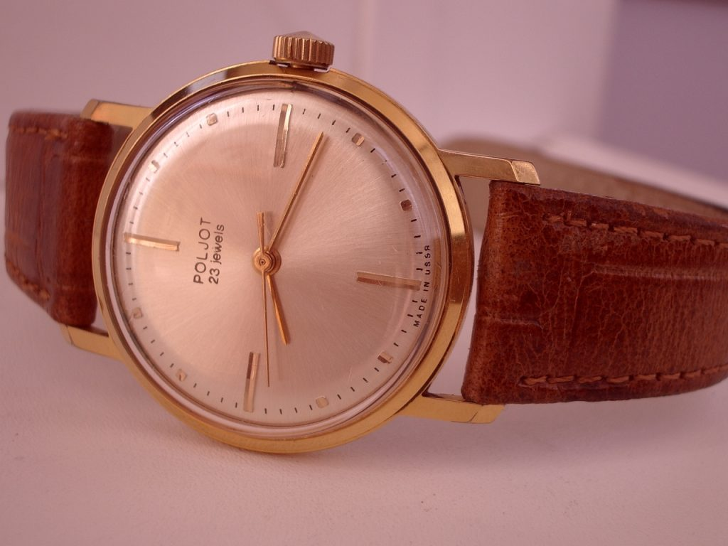 Poljot dress watch