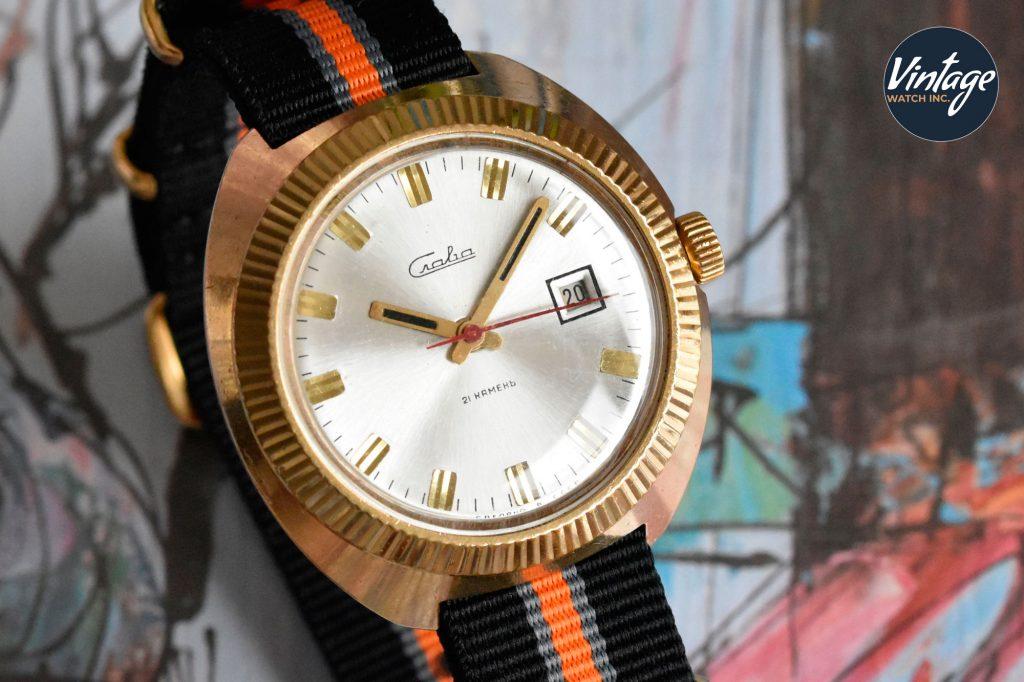 Slava affordable vintage watch