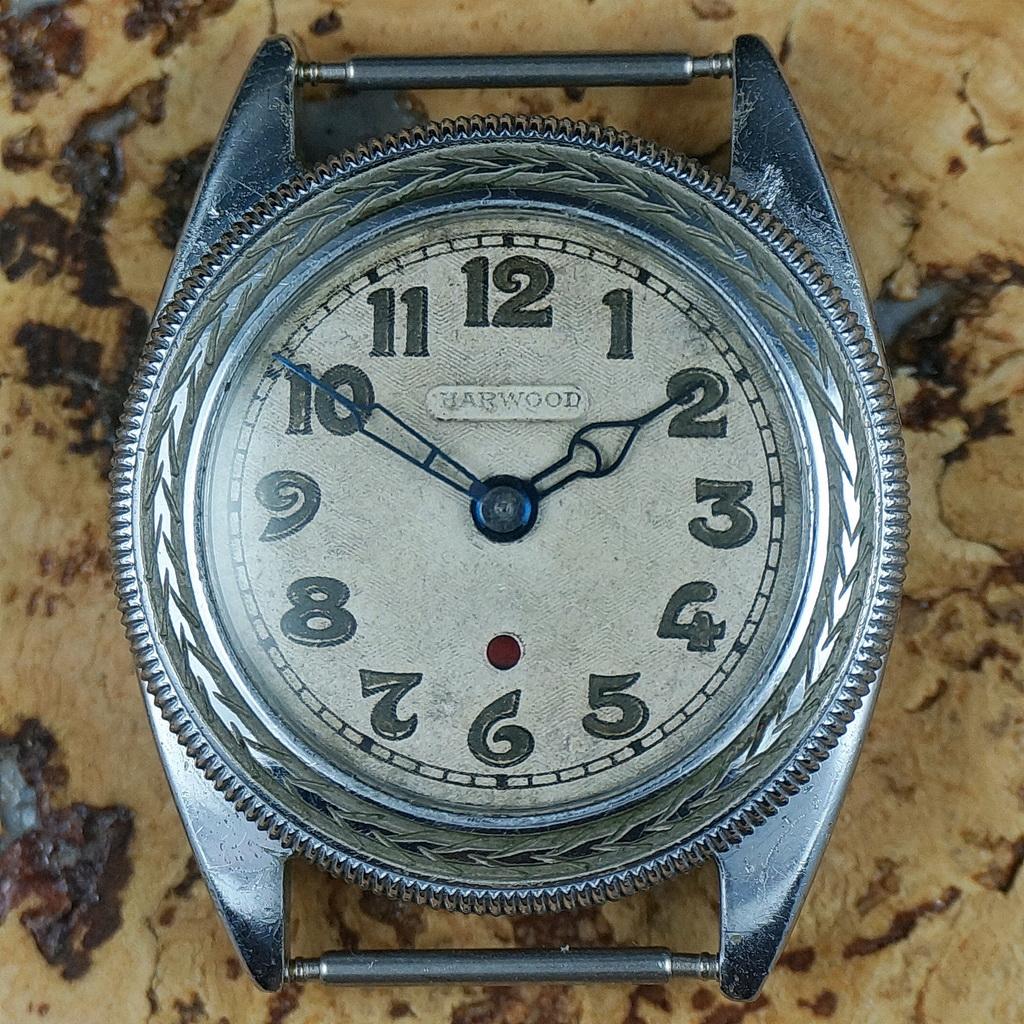 First Harwood self-winding watch